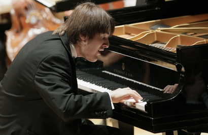 First prize winner pianist Daniil Trifonov