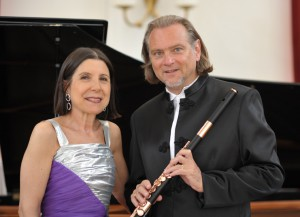 Patrick gallois and Maria Prinz