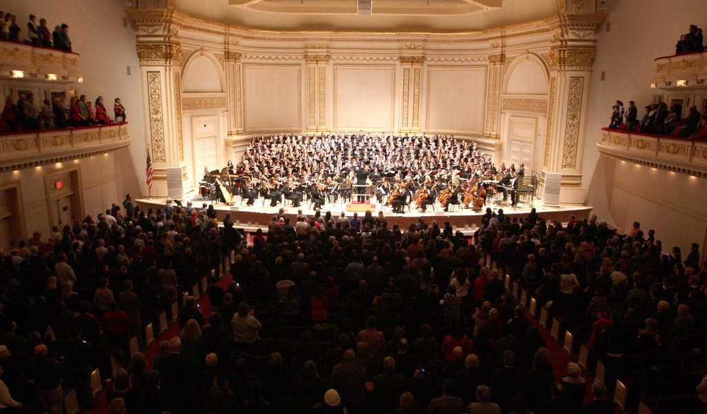 Distinguished Concerts International New York (DCINY) presents Shawnee Press: Celebrating 75 Years in Music in Review