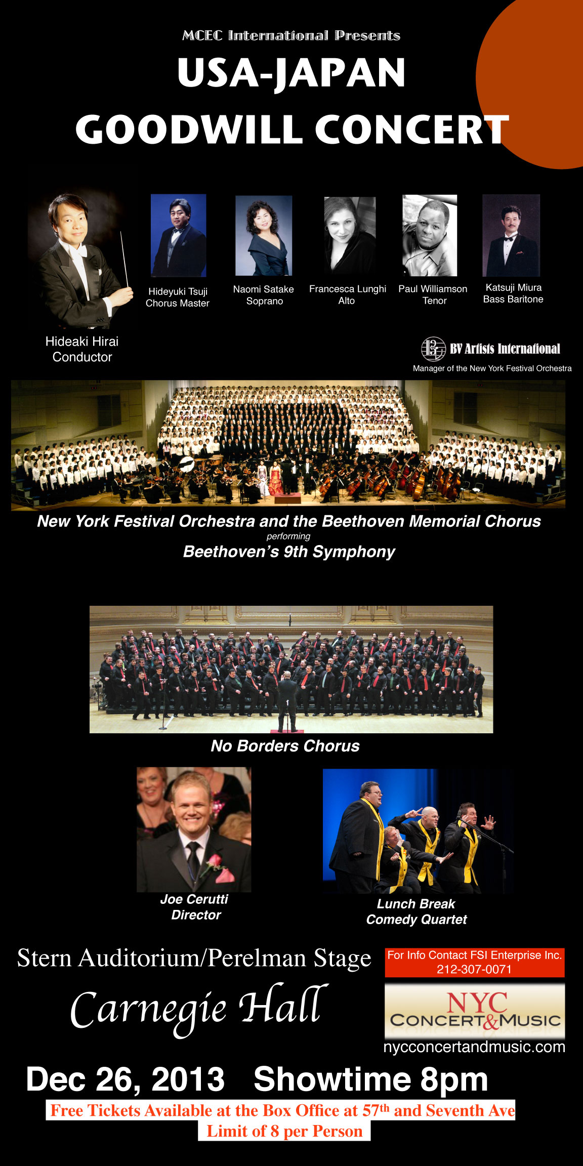 USA-Japan Goodwill Mission Concert in Review