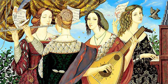 The trobairitz were Occitan female troubadours of the 12th and 13th centuries.