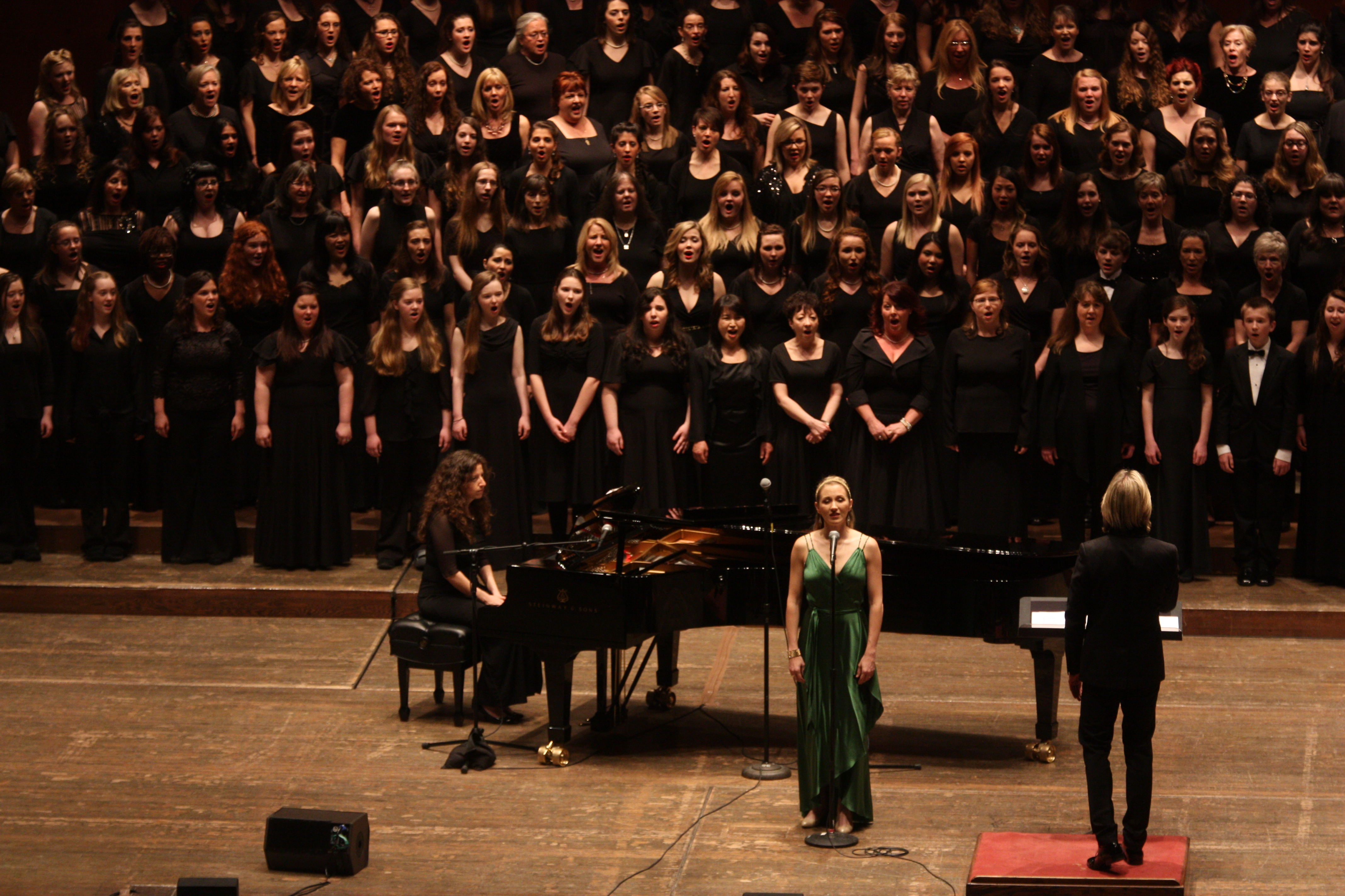 Distinguished Concerts International New York (DCINY) presents: Defying Gravity: The Music of Stephen Schwartz and Eric Whitacre in Review