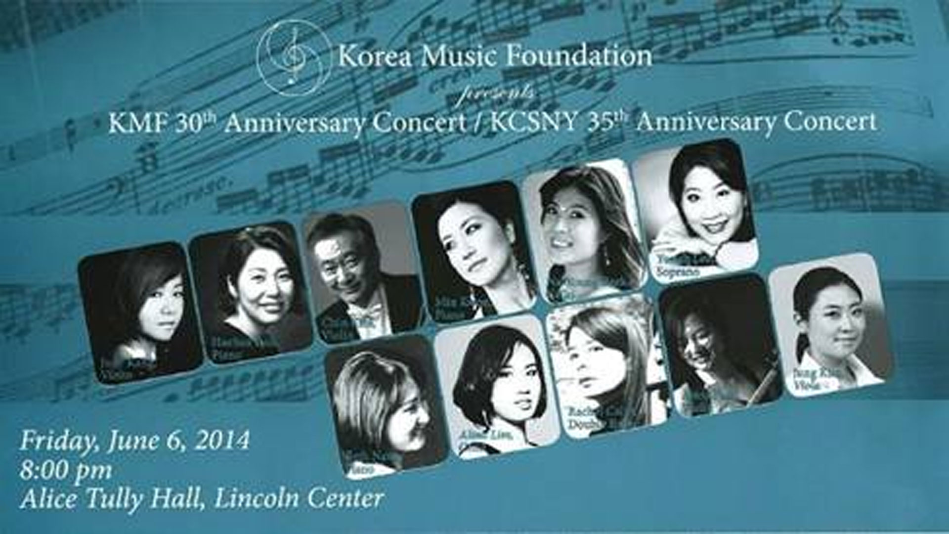 Korea Music Foundation 30th Anniversary and Korean Cultural Service NY 35th Anniversary Concert in Review