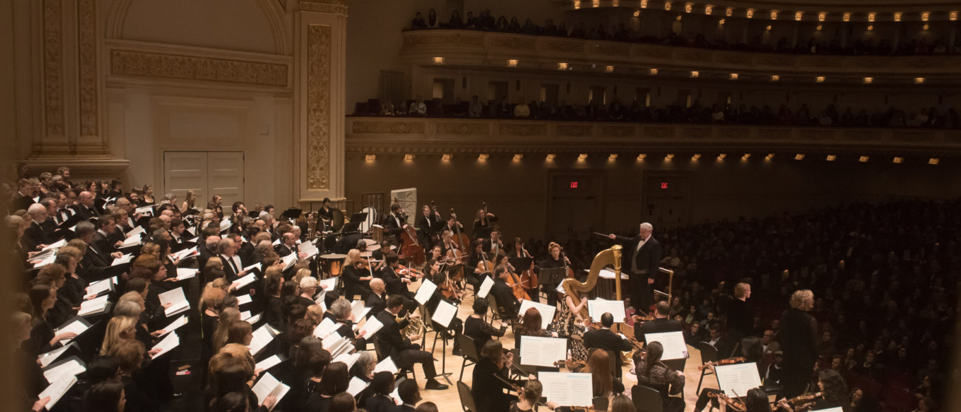 Distinguished Concerts International New York (DCINY) presents The Music of Sir Karl Jenkins in Review