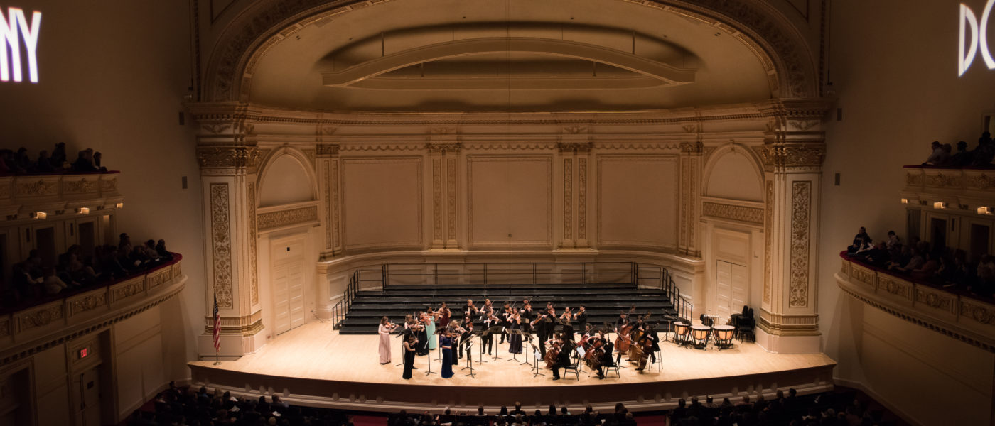 Distinguished Concerts International New York (DCINY) presents Mercer University at Carnegie Hall in Review