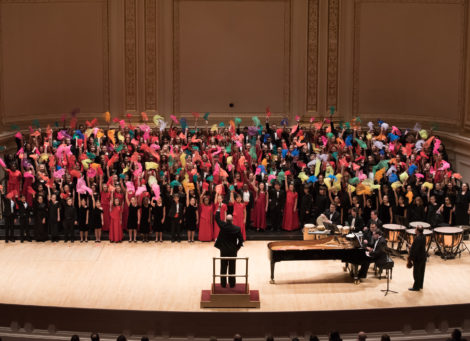 Distinguished Concerts International New York (DCINY) presents I Hear America Singing: The Music of André Thomas and Greg Gilpin in Review