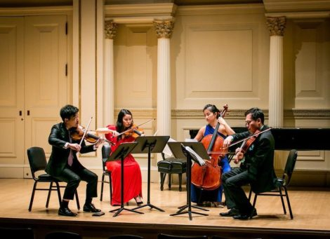 New Asia Chamber Music Society presents New Asia Chamber Music Society with Zhang Fang, Piano in Review